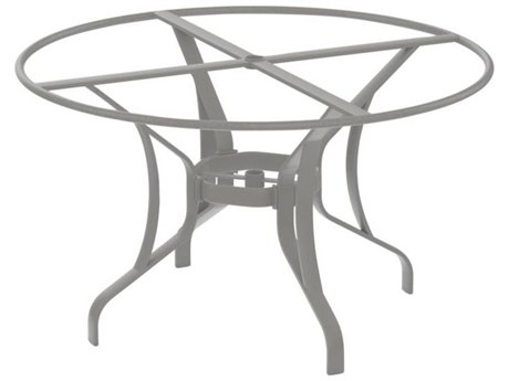 Tropitone Bases Cast Aluminum Round Dining Table Base Only 28H
