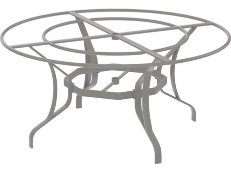 Tropitone Stoneworks Cast Aluminum Round Dining Table Base Only 28H