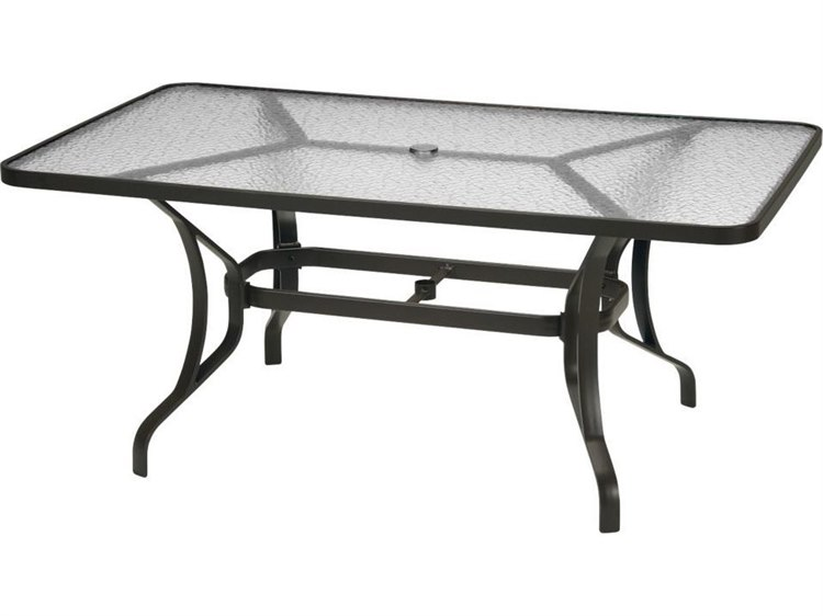 Tropitone Aluminum 40 X 66 Rectangular Dining Table With