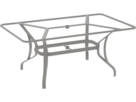 Tropitone Stoneworks Cast Aluminum Rectangular Dining Table Base Only
