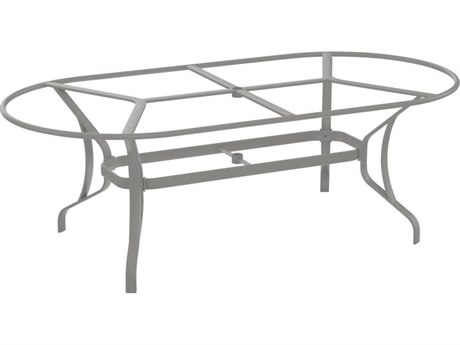 Tropitone Bases Cast Aluminum Oval Dining Table Base Only 28H