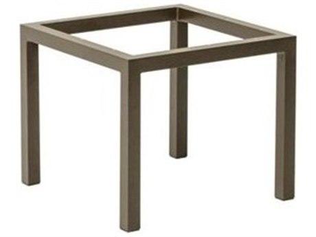 Tropitone Parsons Aluminum 22 Square Tea Table Base