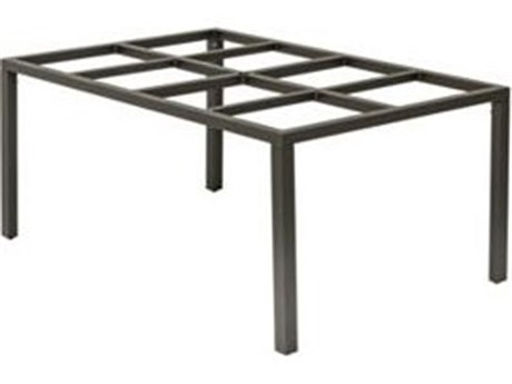 Tropitone Parsons Aluminum 64 x 41 Rectangular KD Dining Table Base