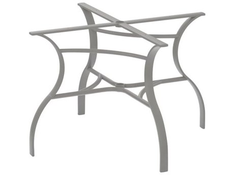 Tropitone Bases Cast Aluminum Square Dining Table Base Only 27.5H