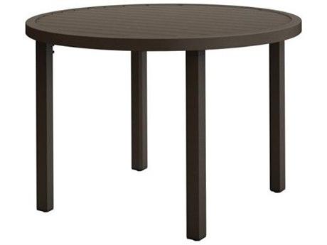 Tropitone Filo Aluminum 36''Wide Round KD Dining Table