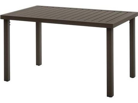 Tropitone Filo Aluminum 50''W x 30''D Rectangular KD Dining Table