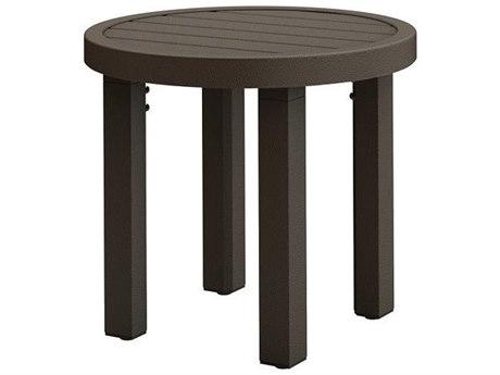 Tropitone Filo Aluminum 20''Wide Round KD End Table