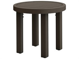 Filo Aluminum 20''Wide Round KD End Table