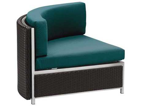 Tropitone Cabana Club Woven Curved Corner Lounge Chair
