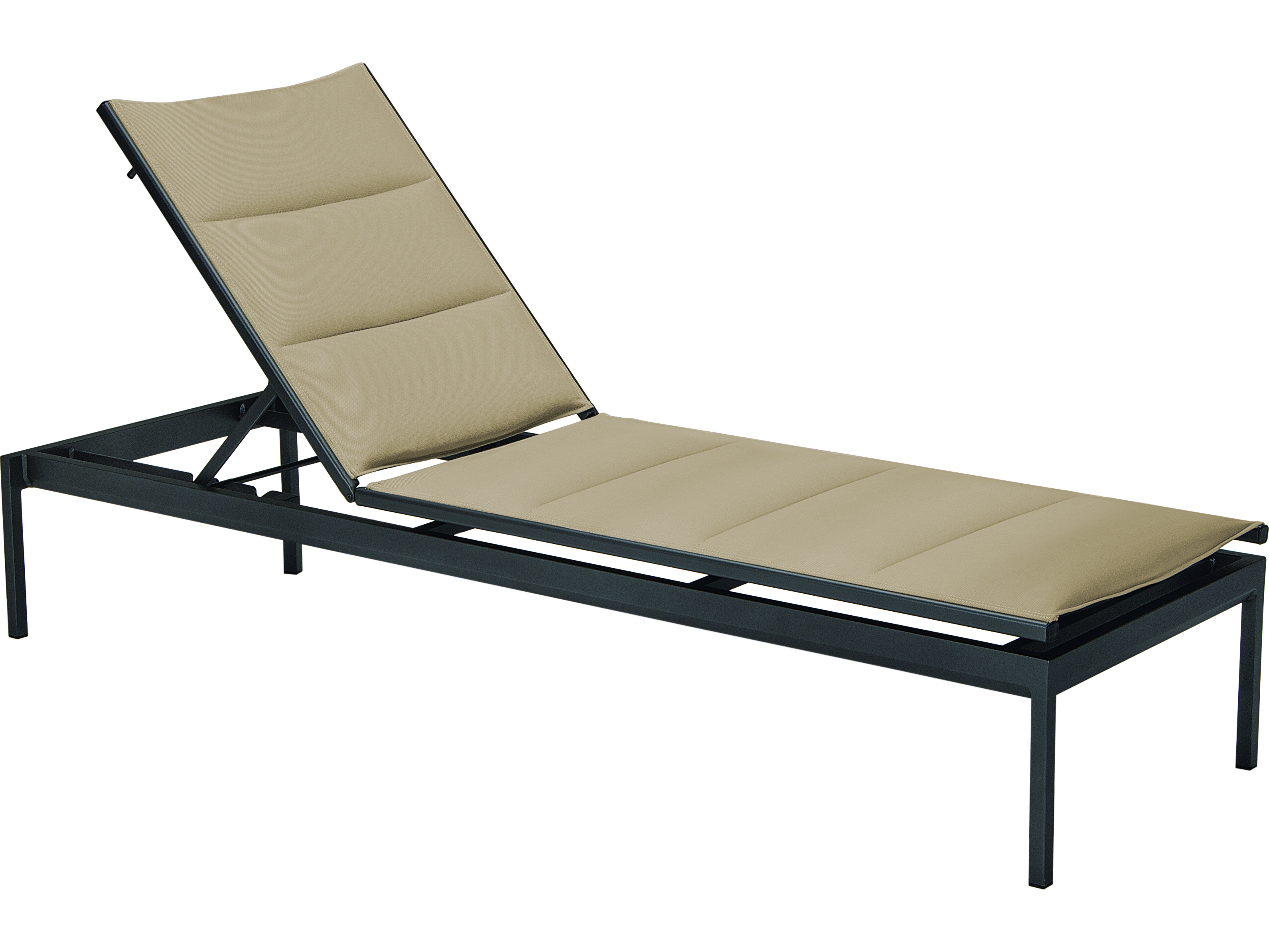 Tropitone Cabana Club Aluminum Sling Side Chaise Lounge ...