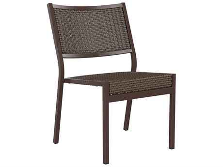 Tropitone Cabana Club Woven Aluminum Dining Side Chair