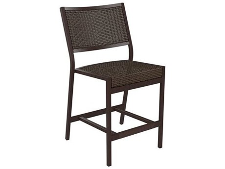 Tropitone Cabana Club Woven Armless Stationary Counter Height Stool
