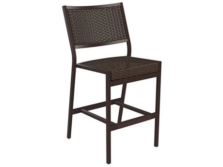 Tropitone Cabana Club Woven Armless Stationary Bar Stool
