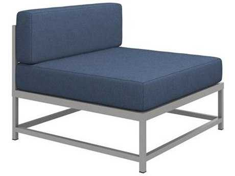 Tropitone Cabana Club Aluminum Cushion Modular Lounge Chair