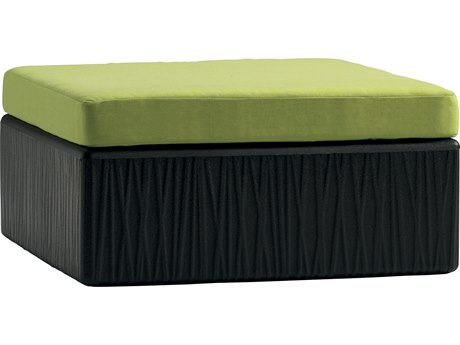 Tropitone Mobilis Recycled Plastic Ottoman