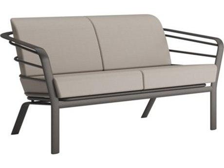 Tropitone Prime Cushion Relaxplus Aluminum Loveseat