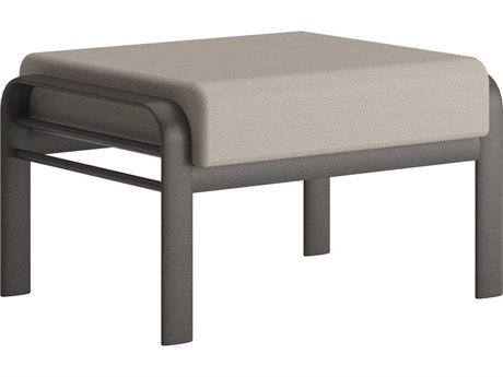Tropitone Prime Cushion Aluminum Ottoman