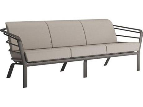 Tropitone Prime Cushion Relaxplus Aluminum Sofa