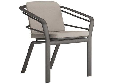 Tropitone Prime Cushion Aluminum Dining Arm Chair