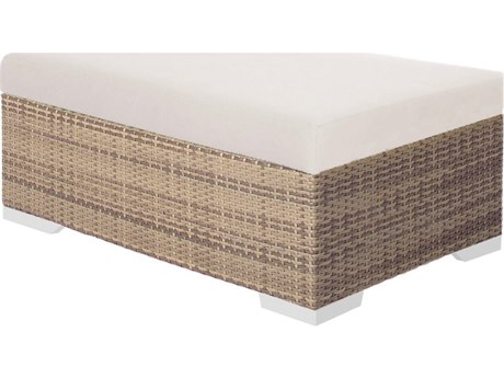 Tropitone Arzo Woven Cushion Rectangular Ottoman