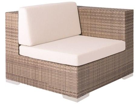 Tropitone Arzo Woven Cushion Left Side Module Lounge Chair