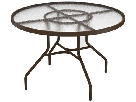 Tropitone Cast Aluminum 42 Round Dining Table TP646NA