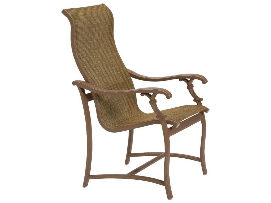 Tropitone Ravello Sling Dining Chairs 650701