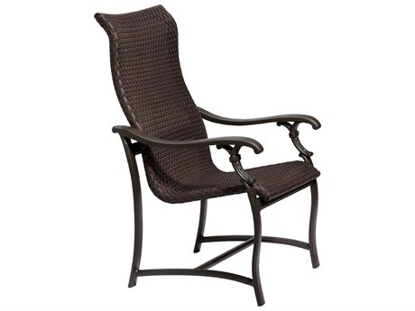 Tropitone Ravello Woven Aluminum Dining Arm Chair