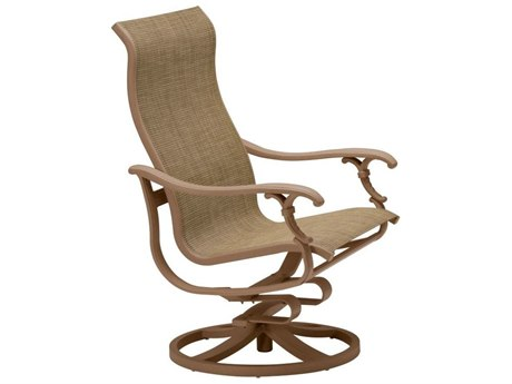 Tropitone Ravello Sling Aluminum Swivel Action Lounger Chair