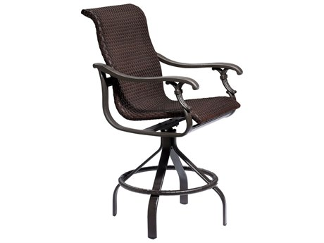 Tropitone Ravello Woven Swivel Bar Stool