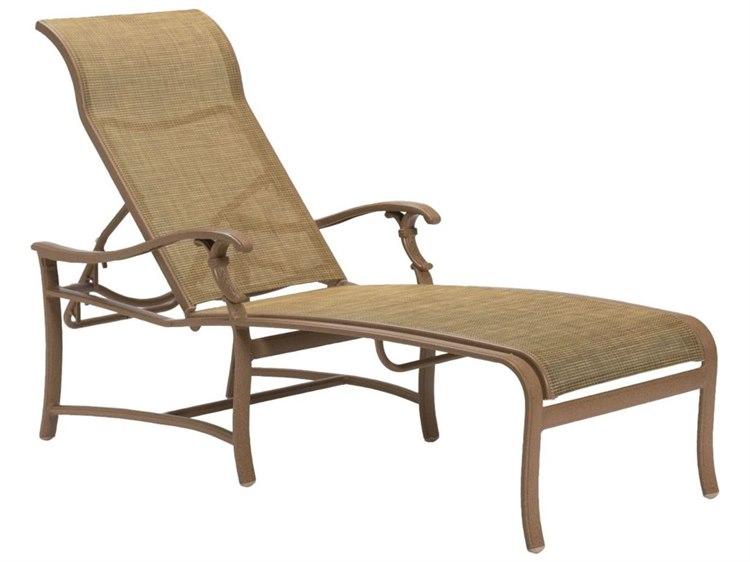 Tropitone Ravello Sling Aluminum Chaise Lounge PatioLiving