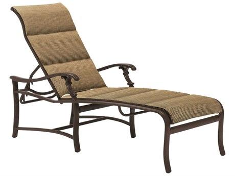 Tropitone Ravello Padded Sling Aluminum Chaise
