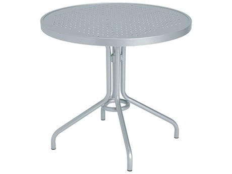 Tropitone Boulevard Aluminum 30 Round Metal Dining Table 30W x 30D x 27H