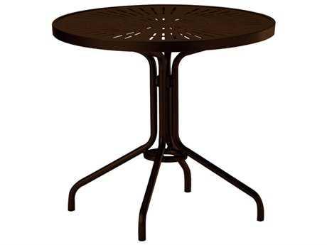 Tropitone La Stratta Aluminum 30 Round Dining Table