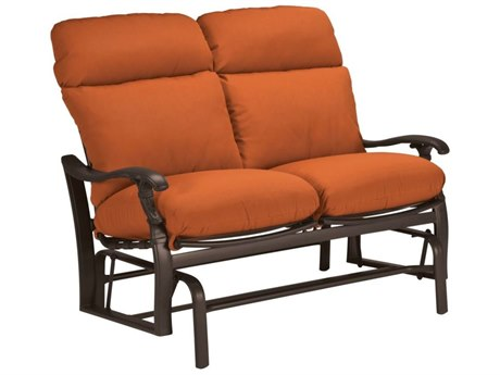 Tropitone Ravello Cushion Aluminum Glider Loveseat