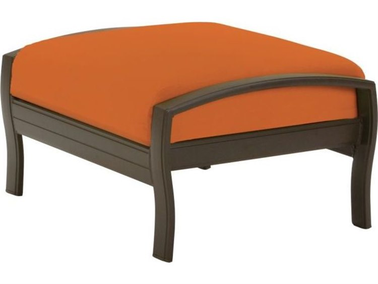 Tropitone Ravello Cushion Aluminum Ottoman PatioLiving
