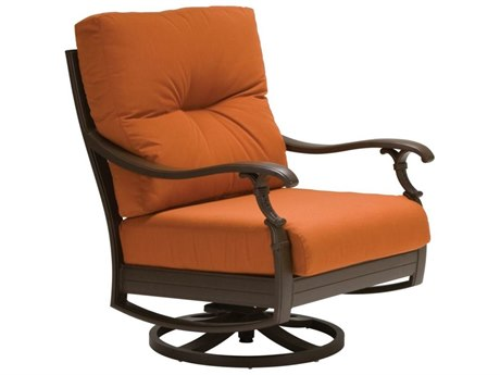Tropitone Ravello Cushion Aluminum Swivel Action Lounge Chair