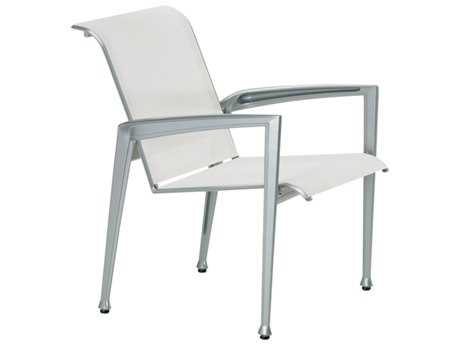 Tropitone Veer Sling  Cast Aluminum Dining Chair