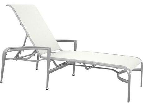 Tropitone Veer Sling Cast Aluminum Chaise