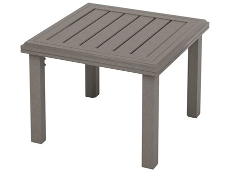 Tropitone Amici Aluminum 24''Wide Square KD Tea Table