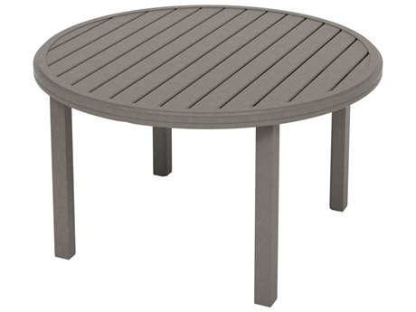 Tropitone Amici Aluminum 42''Wide Round KD Chat Table