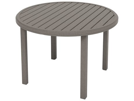 Tropitone Amici Aluminum 42''Wide Round KD Dining Table