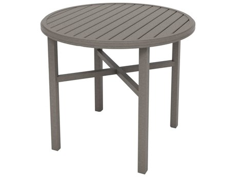 Tropitone Amici Aluminum 42''Wide Round KD Counter Table