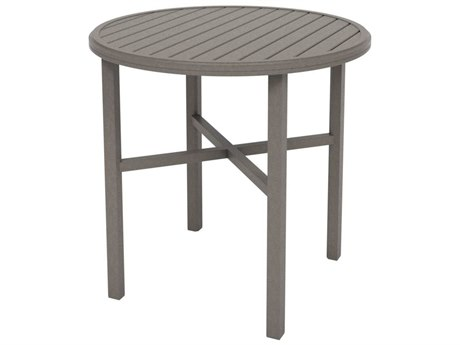 Tropitone Amici Aluminum 42''Wide Round KD Bar Table