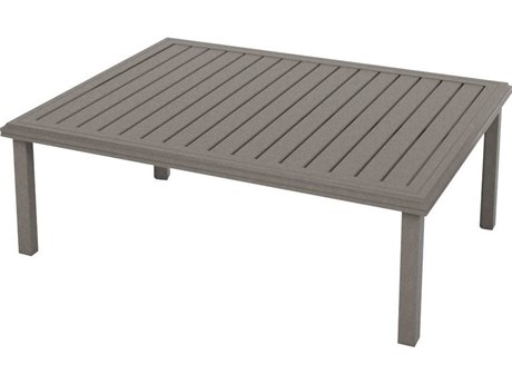 Tropitone Amici Aluminum 54''W x 42''D Rectangular KD Coffee Table