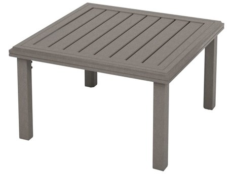 Tropitone Amici Aluminum 30''Wide Square KD Tea Table