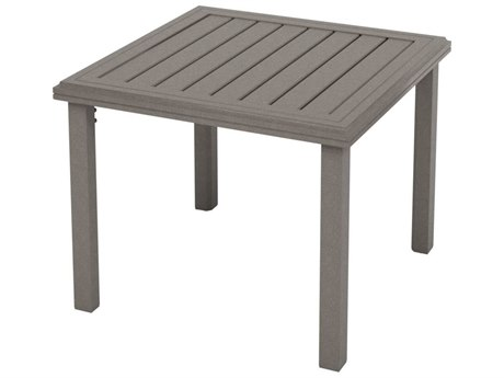 Tropitone Amici Aluminum 30''Wide Square KD Chat Table