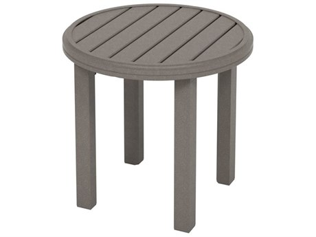 Tropitone Amici Aluminum 24''Wide Round KD End Table