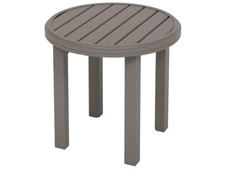 Tropitone Amici Aluminum 24''Wide Round KD End Table TP69188322