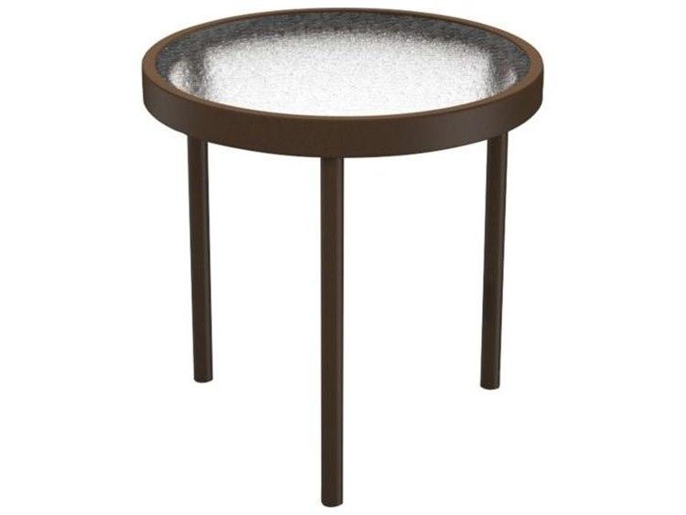 Tropitone Cast Aluminum 16 Round End Table